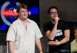 nathan fillion and zachary levi | by Joits