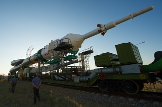 Expedition 32 Soyuz Rocket Rollout (201207120003HQ) | by NASA HQ PHOTO