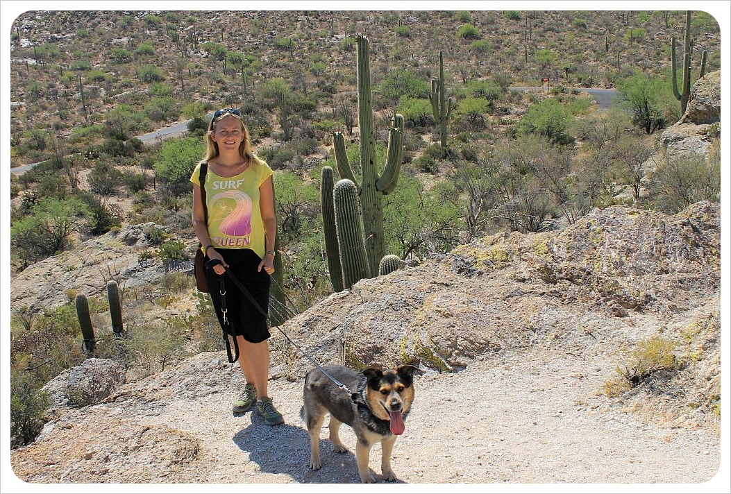 dani and millie in arizona