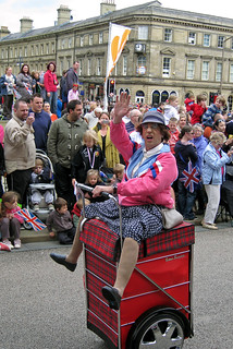 Funny Face !!! ''Granny Turismo'' - Torch Relay 2012 | by littlestschnauzer