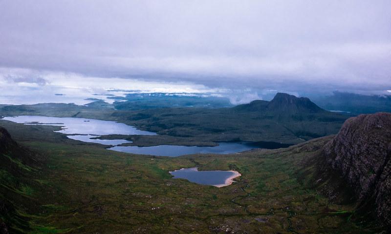 Loch Dearg & Loch Lurgainn