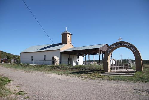 San Juan Nepomuceno Catholic Church, Chilili, NM