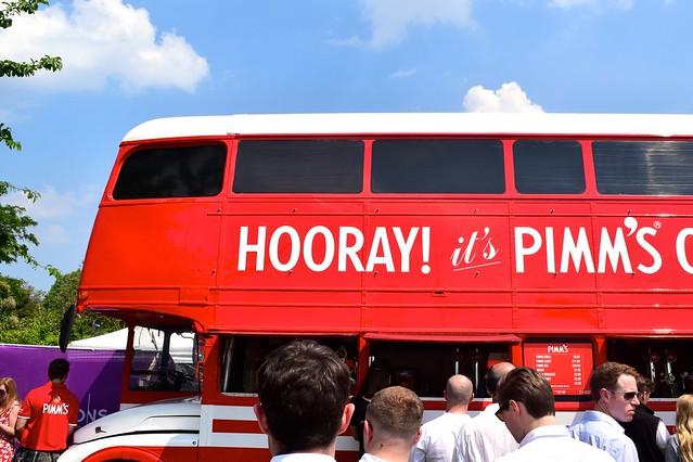 Pimm's Bus at Polo in the Park   www.rachelphipps.com @rachelphipps