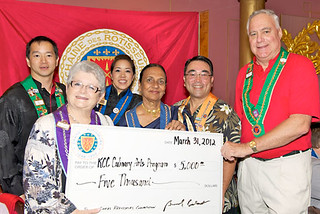 Young Chefs check presentation | by University of Hawai'i News