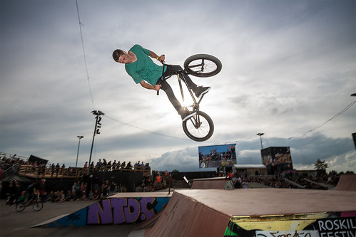 BMX rider at Roskilde Festival Street City | by Stig Nygaard