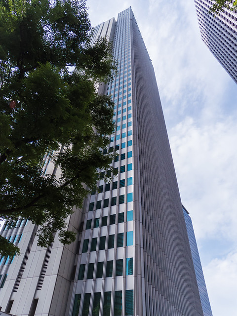 Shinjuku Nomura Building overall view