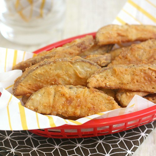 Copycat KFC Potato Wedges | by Tracey's Culinary Adventures