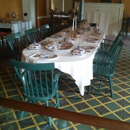 Officers' table #toronto #doorsopen #blogtodot16 #fortyork #formals