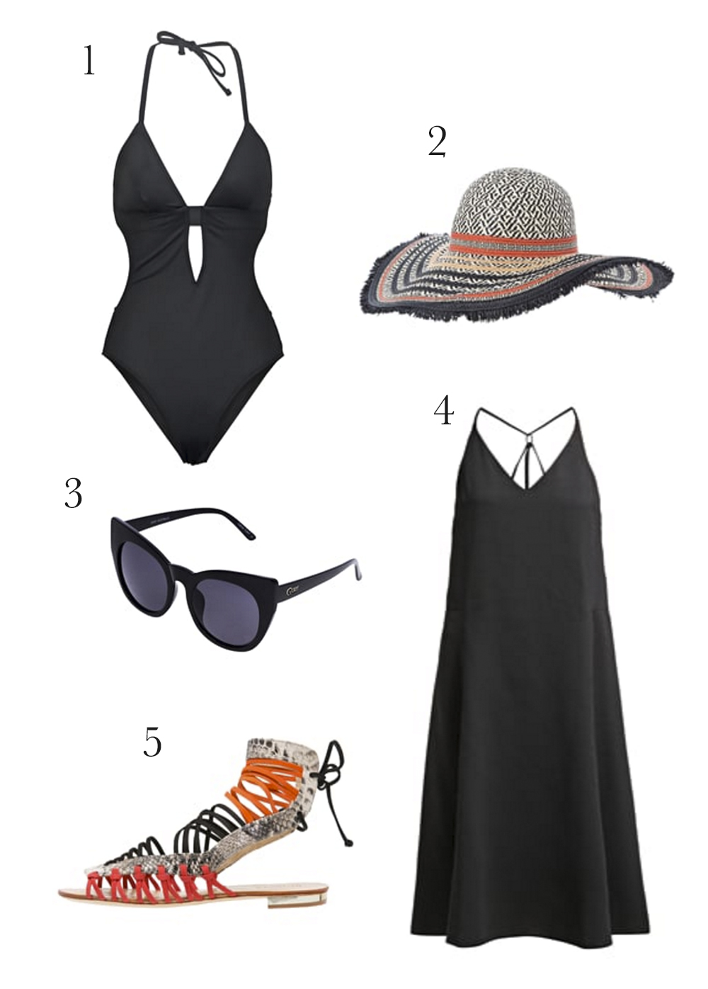 beach outfit bikini dress sunnies zalando 2