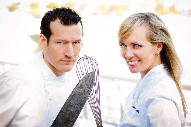 Alessandra & Jean-Francis Quaglia, Chefs Challenge (E. Horton)
