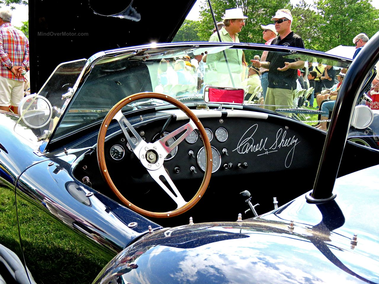 Greenwich Concours 16 Shelby 427 Cobra Signed