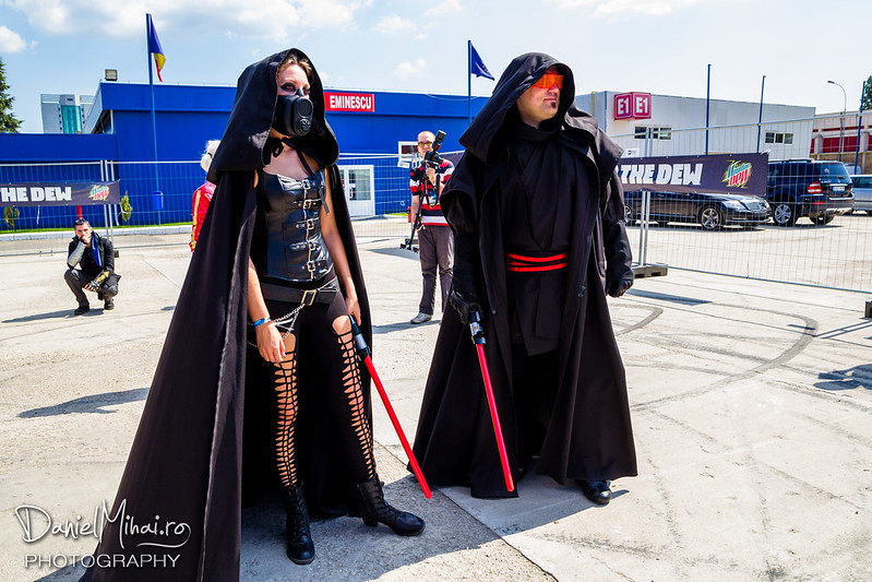 Cosplay at East European Comic Con 2016 by Daniel Mihai