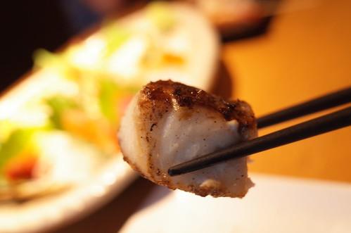 結花 岩塩プレート魚串