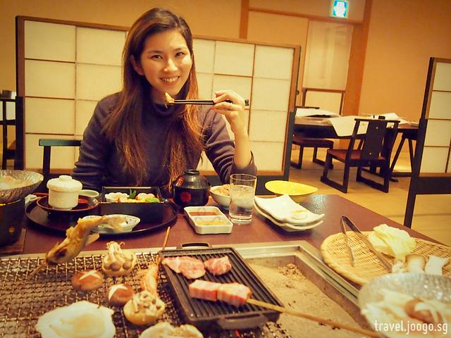 Takinoya Bekkan Tamanoyu Noboribetsu Dinner - travel.joogo.sg