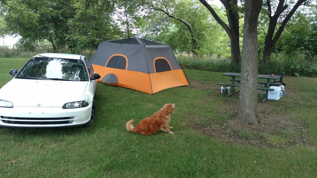 Camping at Lake Anita State Park