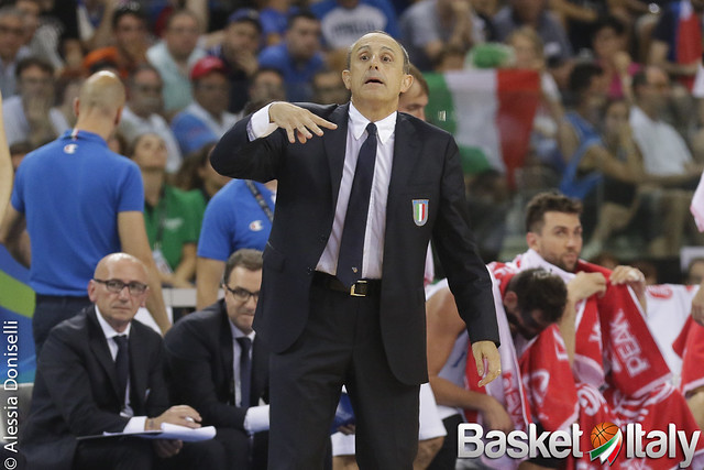 coach ettore messina, italia