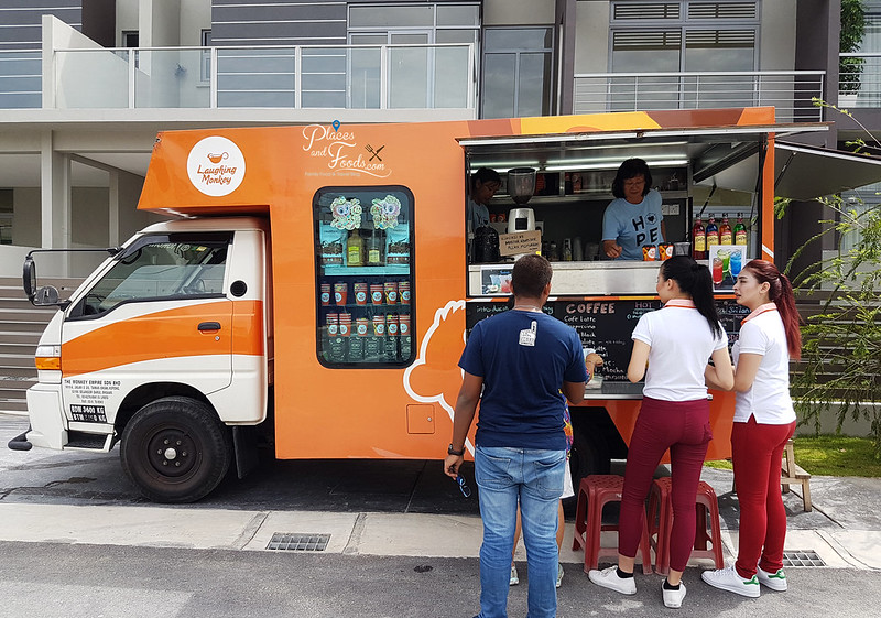 the vantage food truck