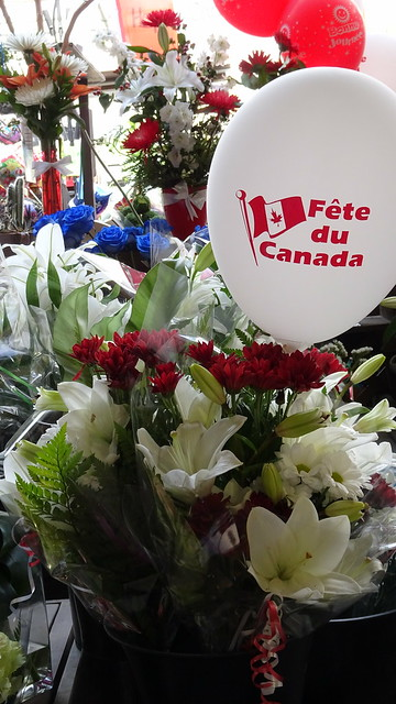 Flowers for Canada