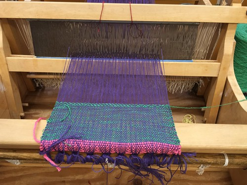 First Weaving!