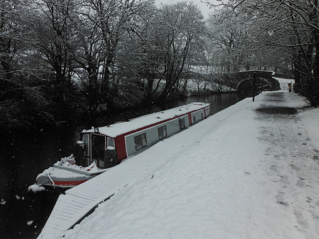 Snow on Canal 1