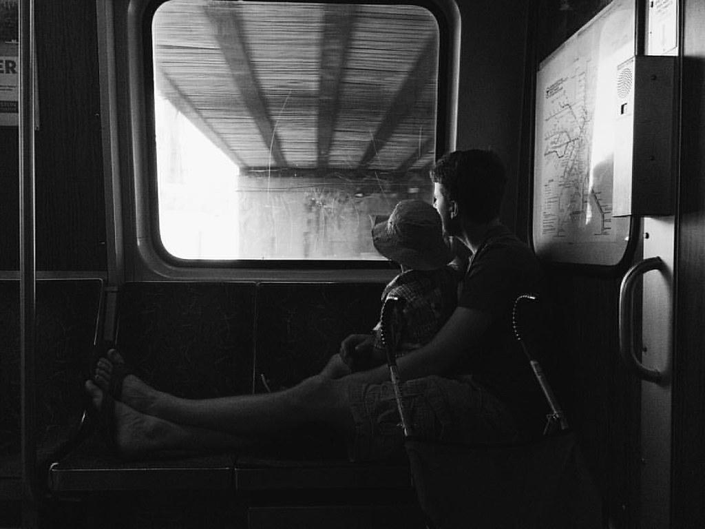 #publictransportation #mbta #urbanlife #instaluther #fatherhood #fatherandson