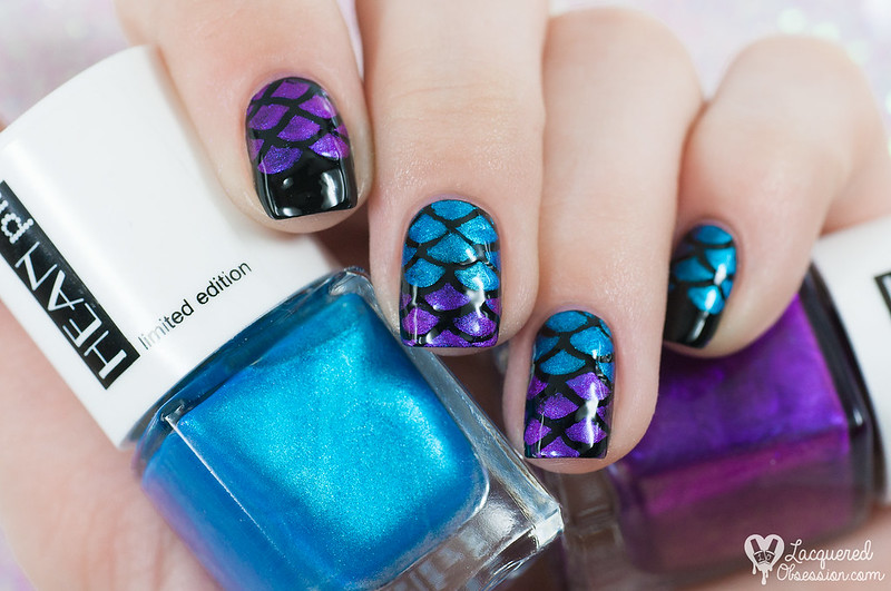 Born Pretty Store - Fish Scale Nail Vinyls