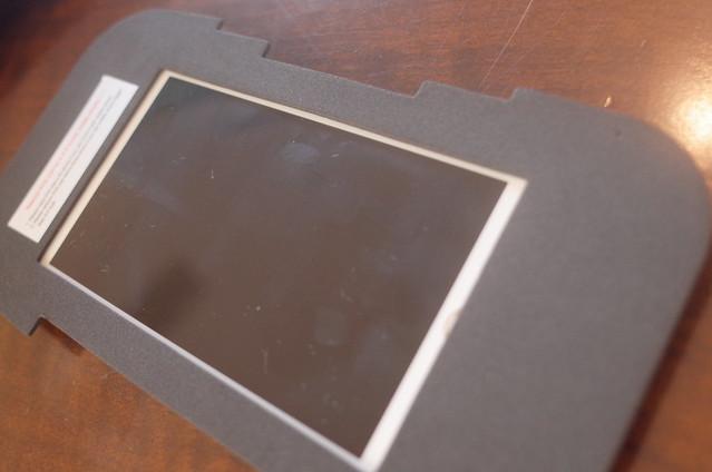 EVA mat on iPhone 6s display Habor 3D VR glasses HBPA007B