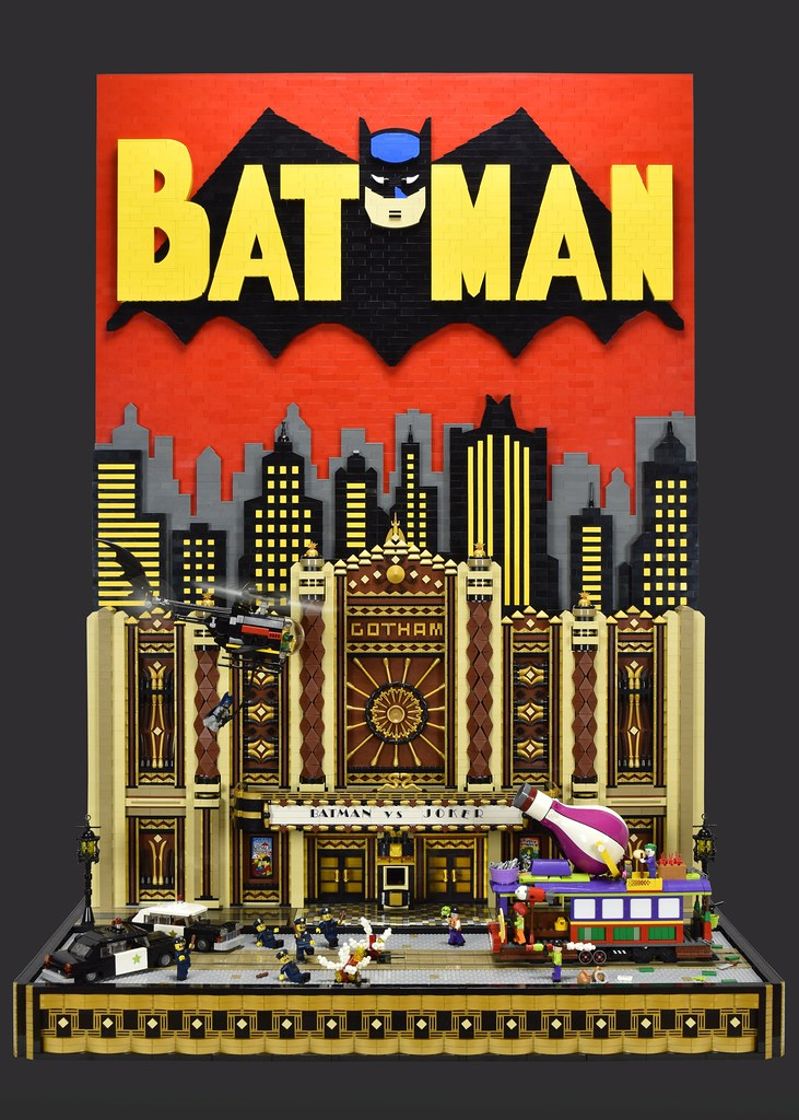 Batman vs Joker Gotham Theater Showdown