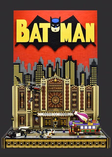 Batman vs Joker Gotham Theater Showdown