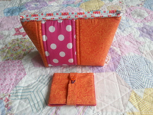 Needle book and Lola pouch