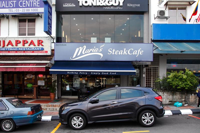 Maria's SteakCafe Bangsar