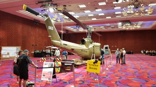 Huey on Display