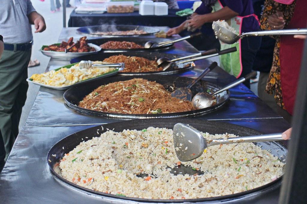 Ramadhan Bazaar: Nasi Goreng & Mee Goreng