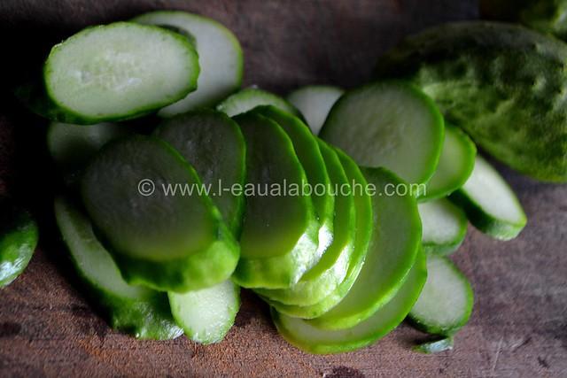 Salade de Concombres et Cornichons Marinés © Ana Luthi Tous droits réservés 9