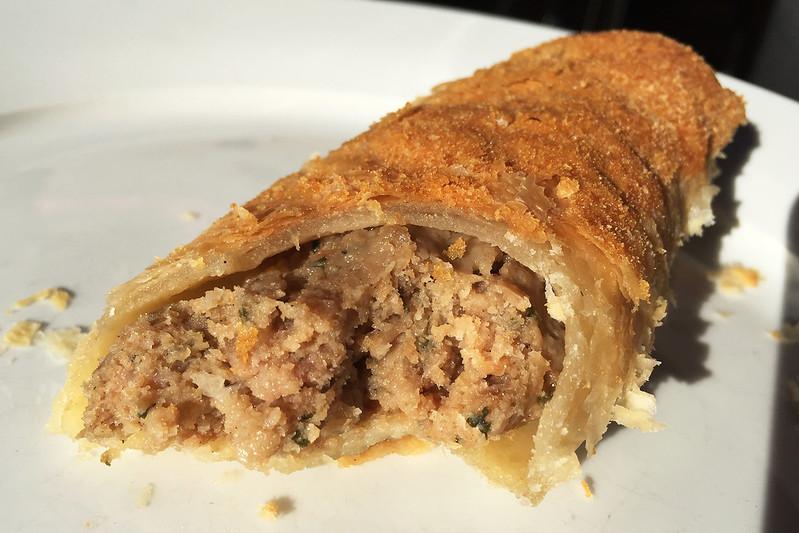 Sausage roll, Pierre's Patisserie