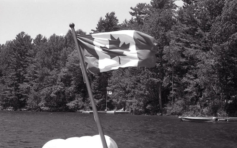 Pair of Canadian Flags_