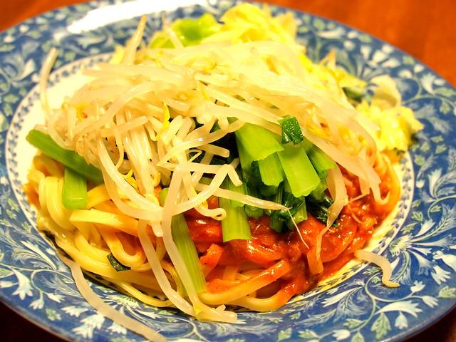「2016.7.4 汁なし坦々麺」