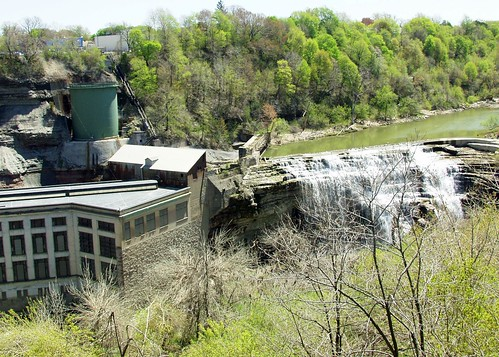 Rg E Station 5 Hydro Electric Plant Lower Falls Genesee River Rochester Ny Flickr Photo
