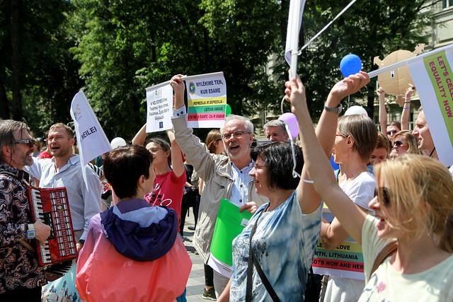 Baltic pride 2016 | Eitynės