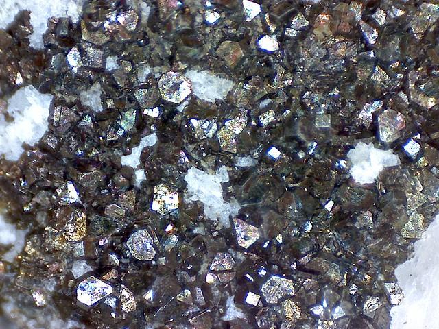 Chalcopyrite (micro-capture)