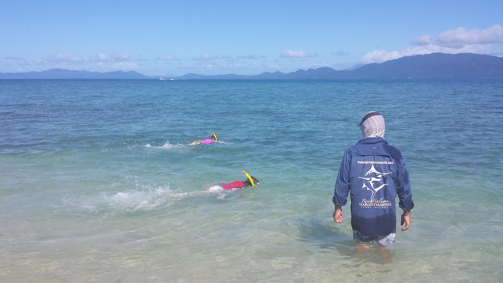 Cairns 2016 day 5 on the water