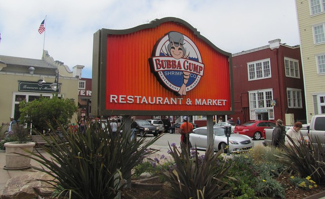 Bubba Gump Shrimp Company on Cannery Row