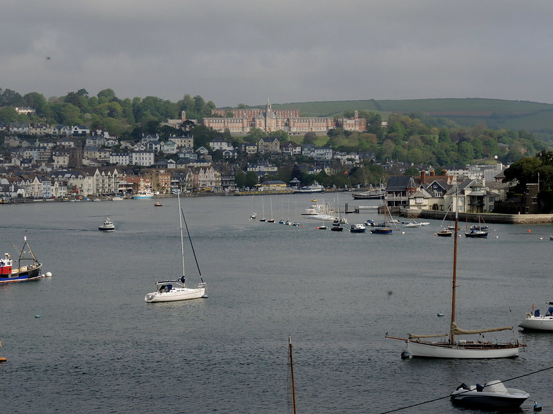Dartmouth Harbour & the Britannia Naval College