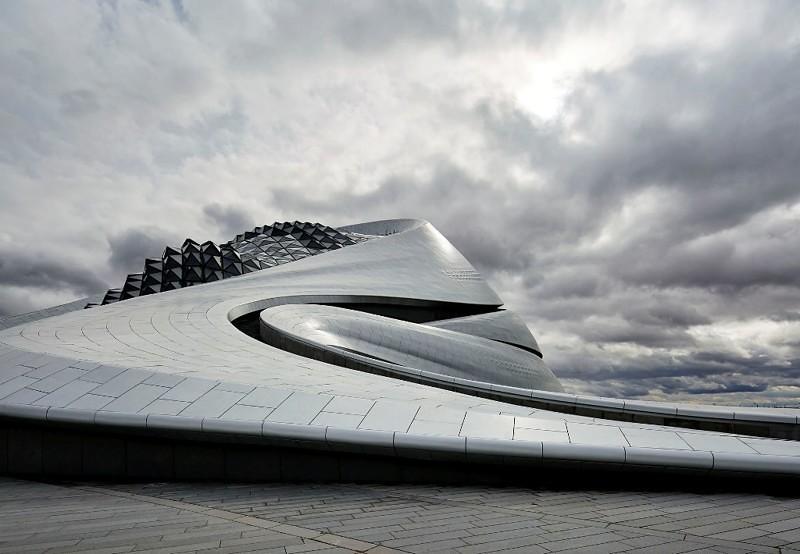 Самый красивый оперный театр в Китае. Проект MAD Architects