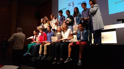Entrega Premios #XIVOlimpiadaMatemática Euskadi
