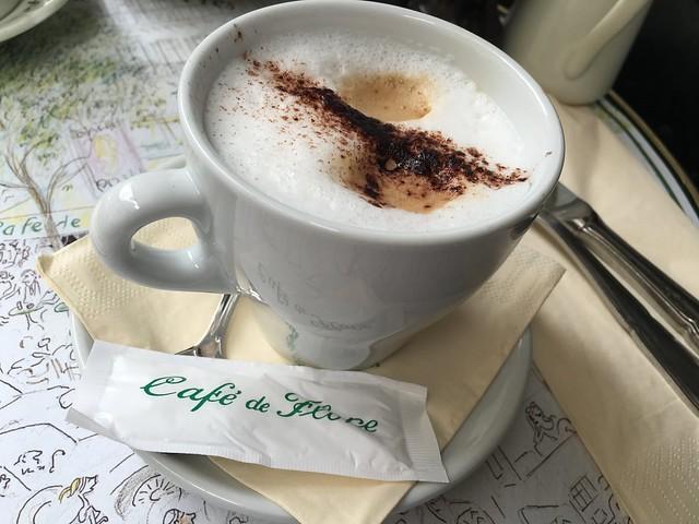 カフェ ド フロール(cafe de flore) パリ フランス paris france st germain des pres