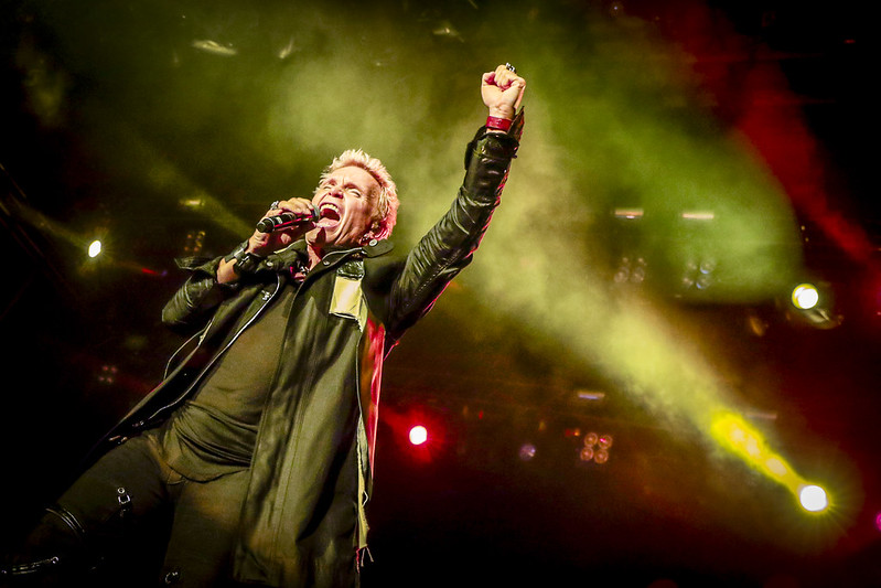 Billy Idol Live at the RBC Bluesfest in Ottawa, Ontario