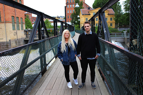 Amanda och Fredrik