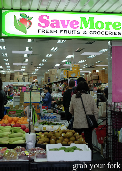 Save More Asian grocery store during the Community Kouzina Marrickville Food Tour for Open Marrickville