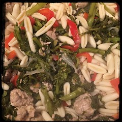 #Cavatelli #Rapini #GroundPork #Homemade #CucinaDelloZio - Cavatelli